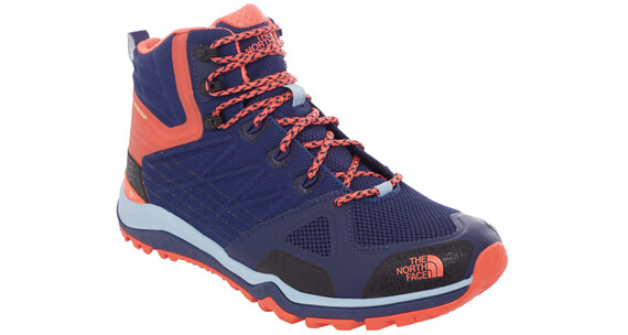 The North Face Ultra Fastpack 2 Mid GTX - Calzado - naranja/azul